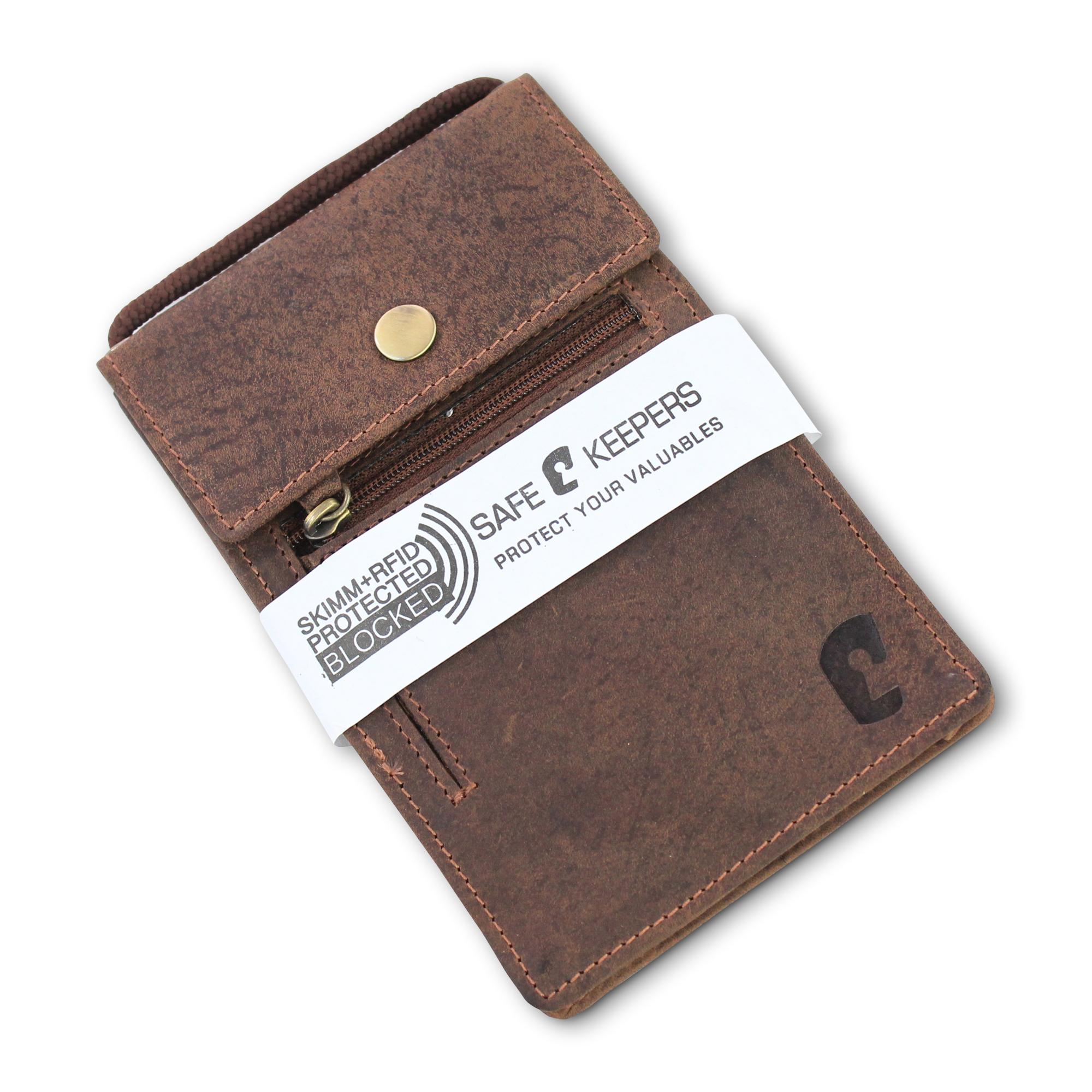 df74e949e99 10 st. Leren XL Paspoort Nektasje / Reistasje voor Iphone 8 RFID ...