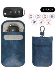 leather car key pouch L1