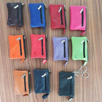 sleuteletuis sleuteltasjes groothandel leer kleuren